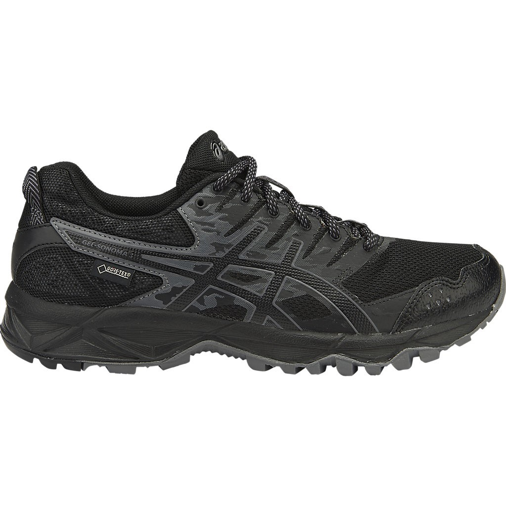470de07d03aa Asics Gel Sonoma 3 GTX - Womens Trail Running Shoes - Black/Onyx/Carbon