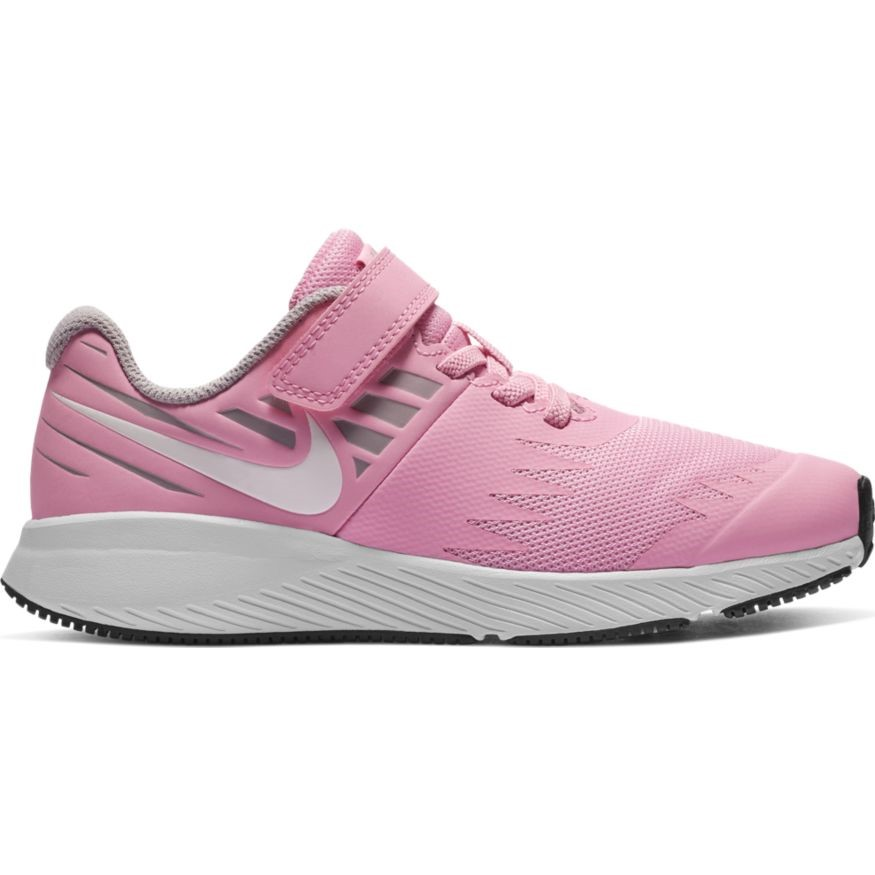 uk availability b7f0f 43987 Nike Star Runner PSV - Kids Girls Running Shoes - Pink Rise White Atmosphere