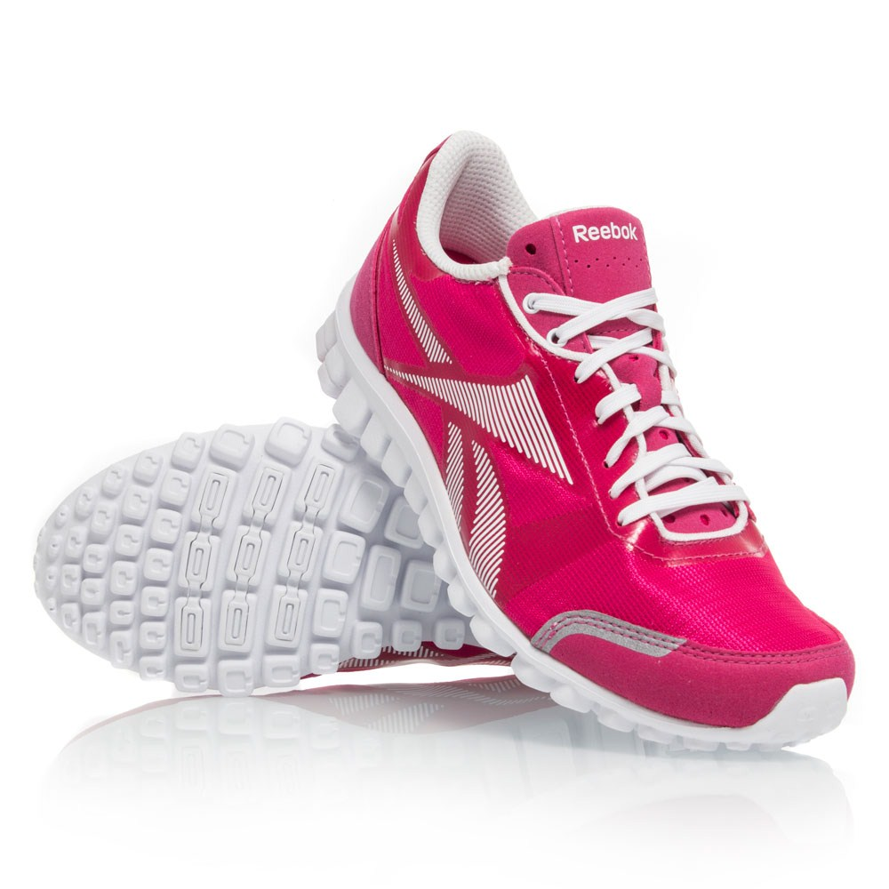 reebok realflex optimal womens running shoes pink