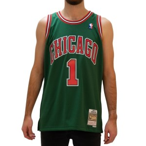 Mitchell & Ness Chicago Bulls Derrick Rose 2008-09 NBA Swingman Mens Basketbal Jersey