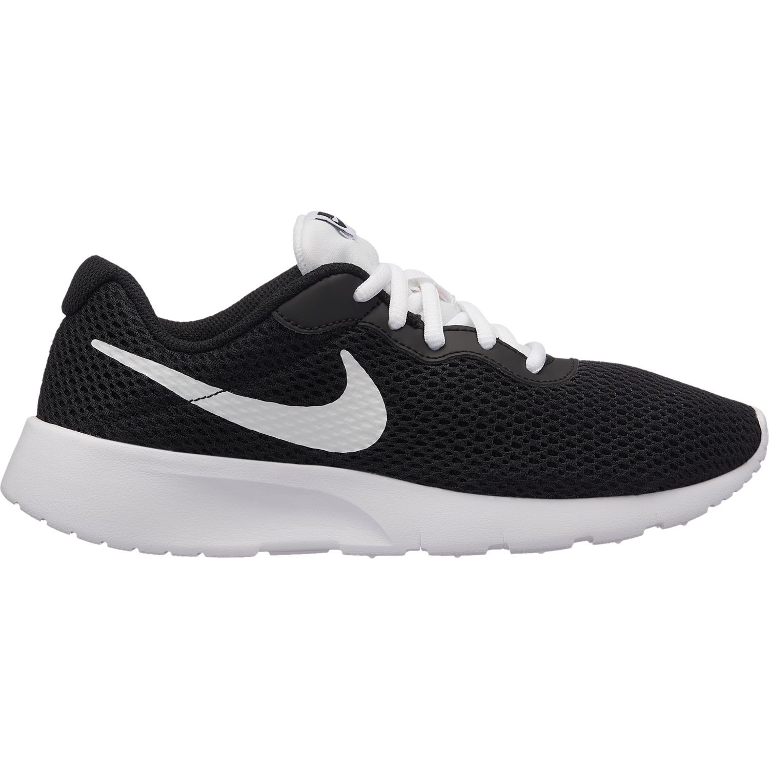 2f718e13bd34 Nike Tanjun GS - Kids Casual Shoes - Black White