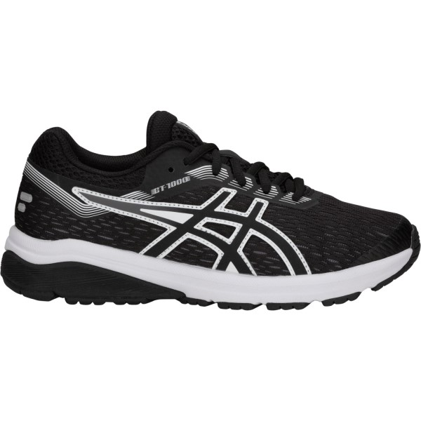Asics GT-1000 7 GS - Kids Running Shoes - Black/White