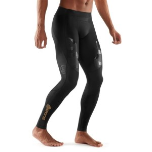 Skins A400 Mens Compression Long Tights (2017) - Oblique