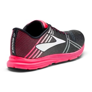 Brooks Hyperion - Womens Racing Shoes - Black/Diva Pink/Diamond Yarn