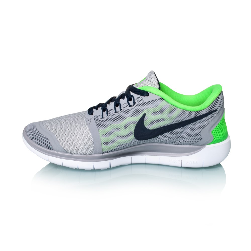 nike free 5 0 gs 2015 kids boys running shoes wolf. Black Bedroom Furniture Sets. Home Design Ideas
