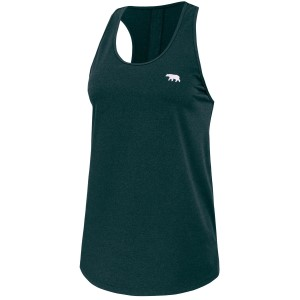 Running Bare Tigress Tie-Back Womens Workout Tank Top