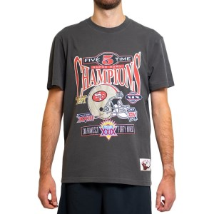 Mitchell & Ness San Francisco 49ers Vintage Champs NFL Mens T-Shirt