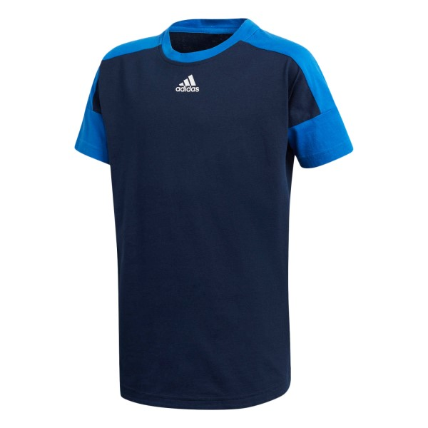Adidas Stadium Kids Boys Casual T-Shirt - Collegiate Navy/Blue