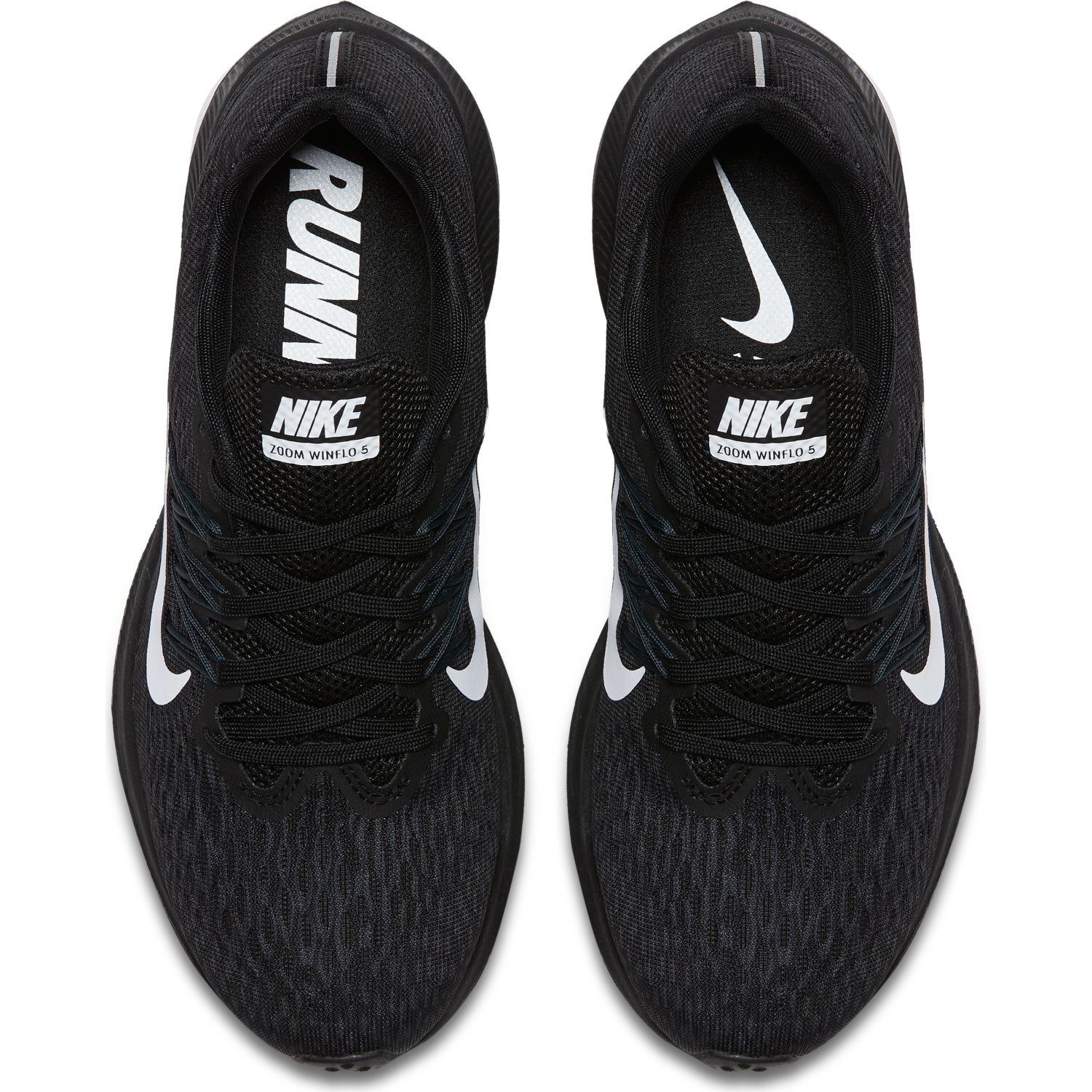 cc1e1dca777 Nike Zoom Winflo 5 - Womens Running Shoes - Black White Anthracite ...