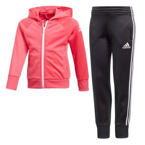 Adidas Little Girls Knitted Kids Training Tracksuit