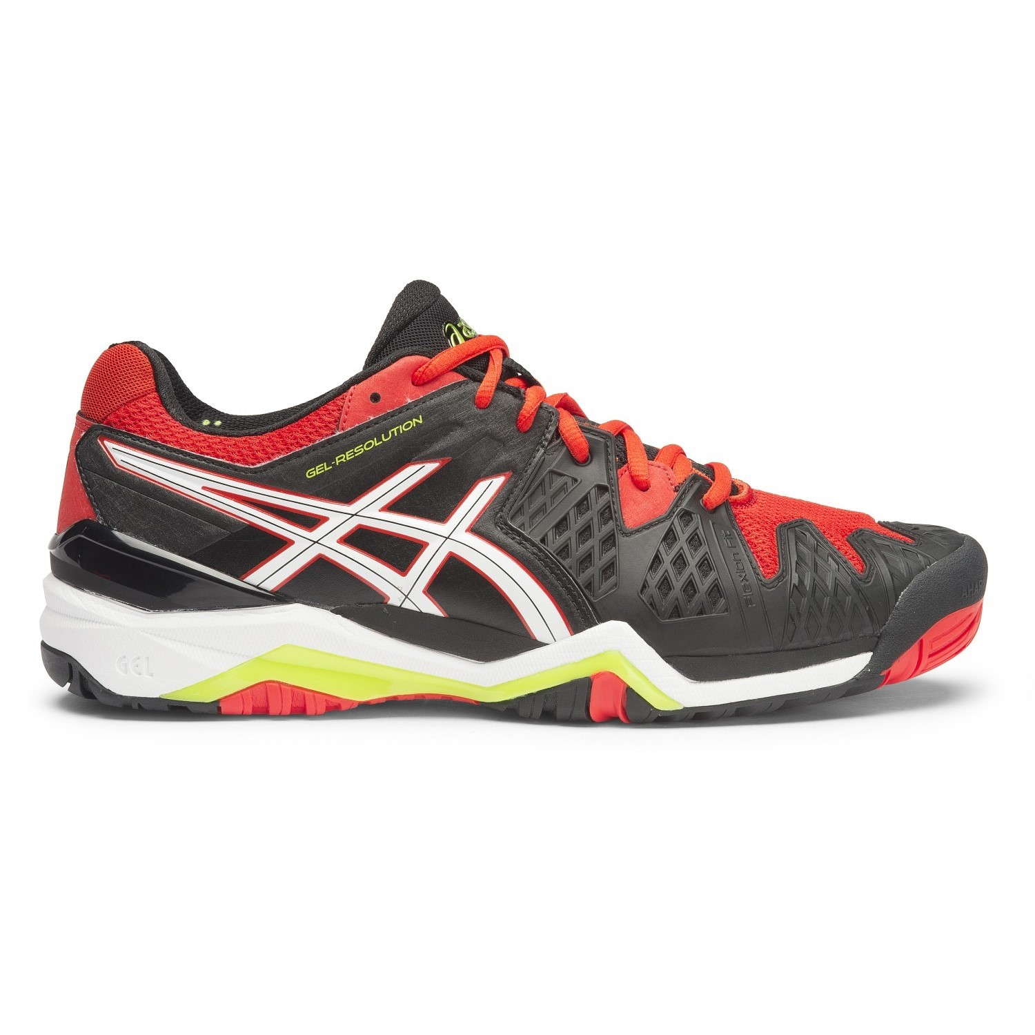Asic Black Tennis Shoes Mens