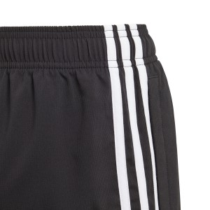 Adidas Essentials 3-Stripe Woven Kids Boys Training Shorts - Black/White