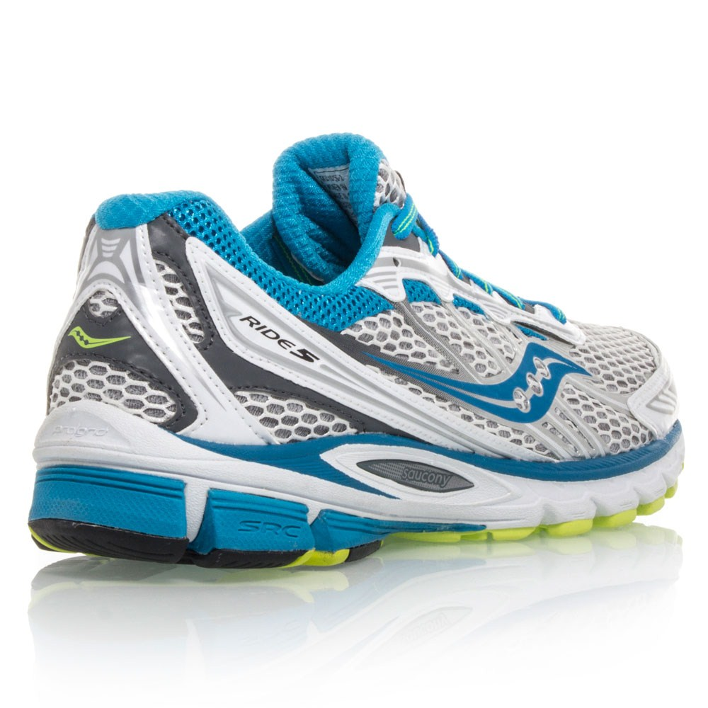 saucony progrid ride 5 womens running shoes silver