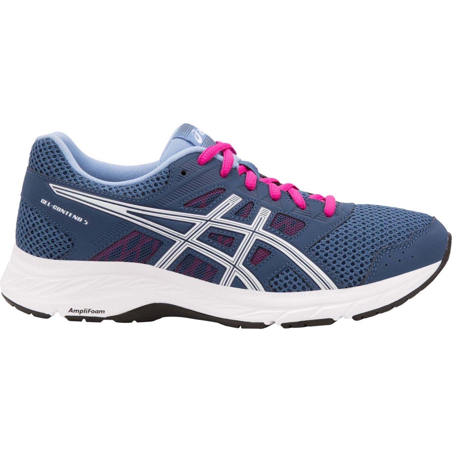 1a8983eb9df1d Asics Gel Contend 5 - Womens Running Shoes - Grand Shark White ...