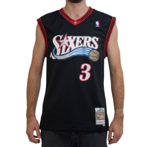 Mitchell & Ness Philadelphia 76ers Allen Iverson 2000-01 NBA Swingman Mens Basketball Jersey
