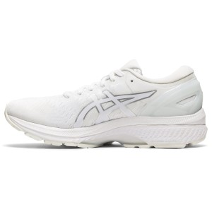 Asics Gel Kayano 27 - Womens Running Shoes - White/White