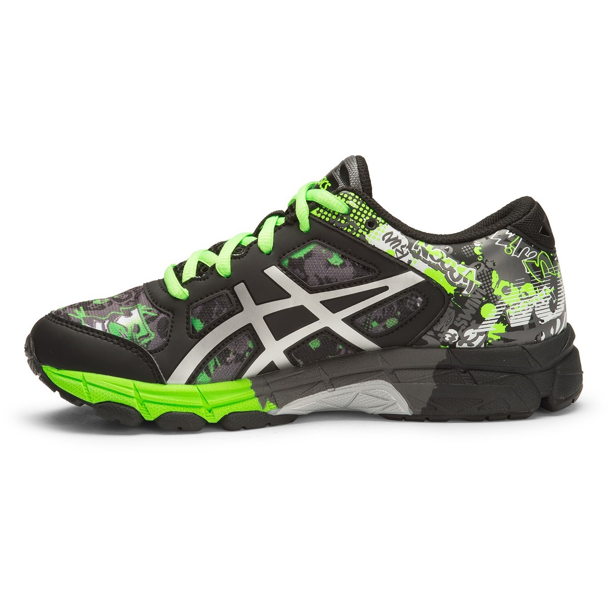 sale retailer d6fc9 9a2c1 Asics Gel Noosa Tri 11 GS - Kids Boys Running Shoes - Carbon Silver