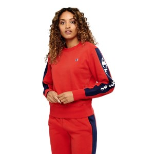Champion Panel Crew Womens Sweatshirt