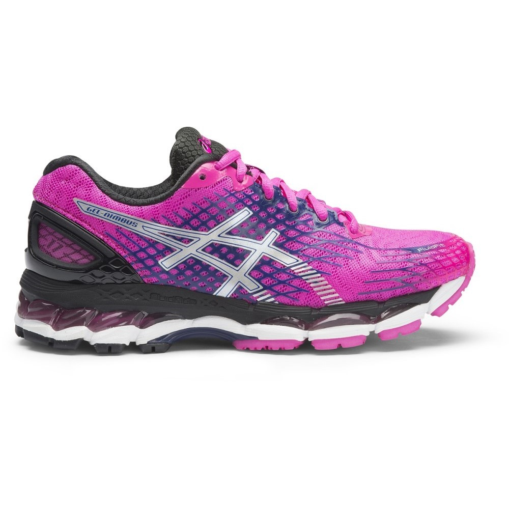 asics gel nimbus 17 womens running shoes magenta. Black Bedroom Furniture Sets. Home Design Ideas