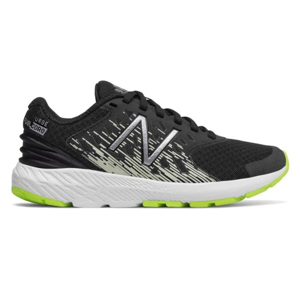 New Balance FuelCore Urge v2 - Kids Boys Running Shoes - Black/White/Yellow