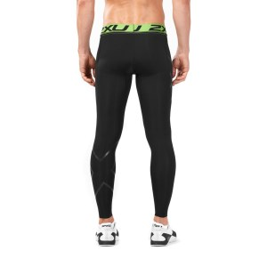 2XU Refresh Recovery Mens Compression Tights - Black/Nero