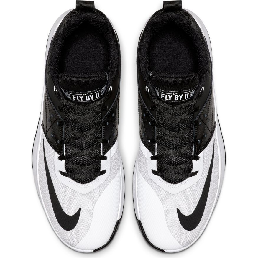 33c271694d5 Nike Fly By Low II - Mens Basketball Shoes - Black White