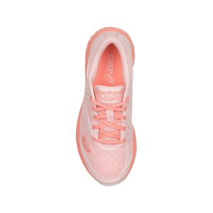 Asics Gel Noosa GS - Kids Girls Running Shoes - Seashell Pink/Begonia Pink/White