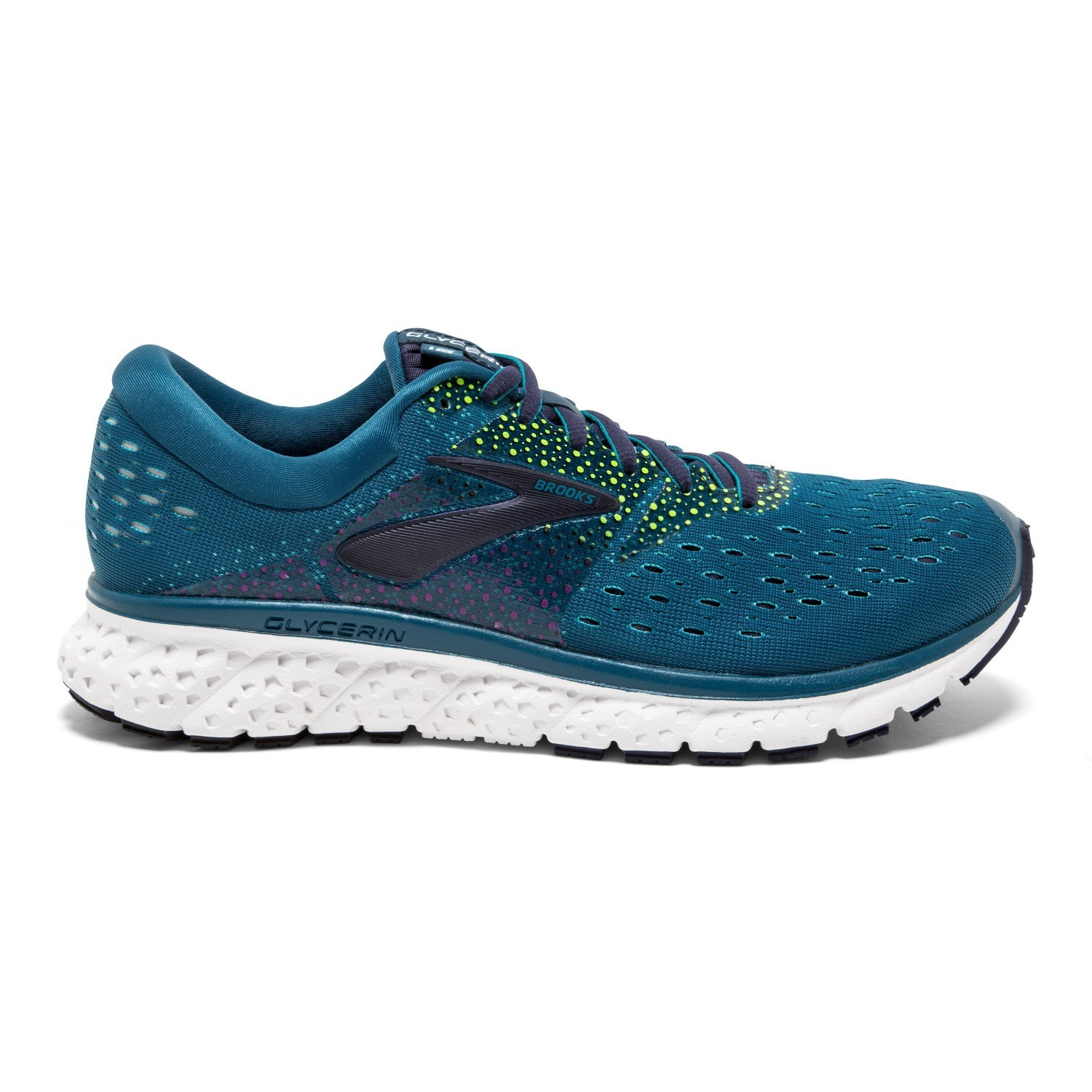 cc909cf984a Brooks Glycerin 16 - Womens Running Shoes - Blue Navy Nightlife ...