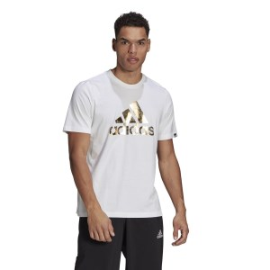 Adidas Badge Of Sports Foil Logo Mens T-Shirt