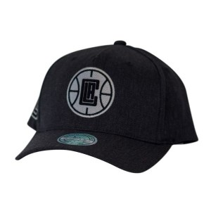 Mitchell & Ness NBA Los Angeles Clippers Charcoal Basketball Cap