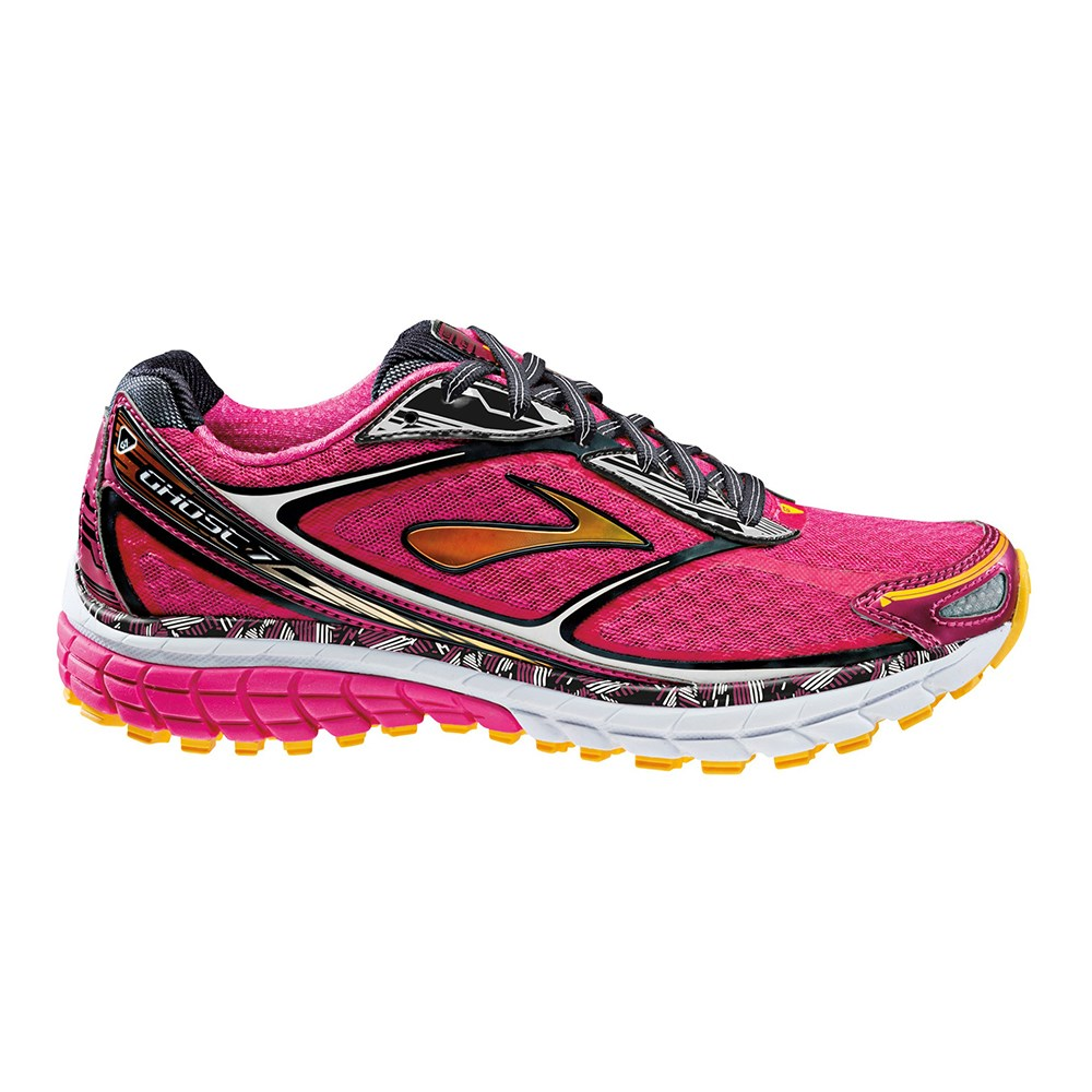 250faf575b5 Brooks Ghost 7 - Womens Running Shoes - Beetroot Purple Silver Black ...