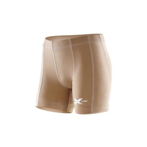 2XU Youth Compression Half Short - Beige