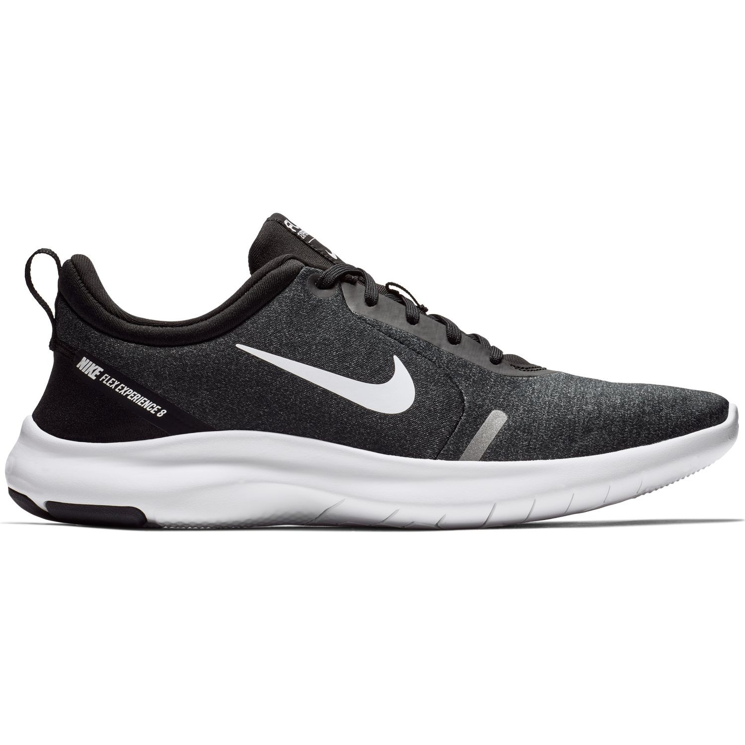 c5ac85bd04cd Nike Flex Experience RN 8 - Mens Running Shoes - Black White Cool Grey