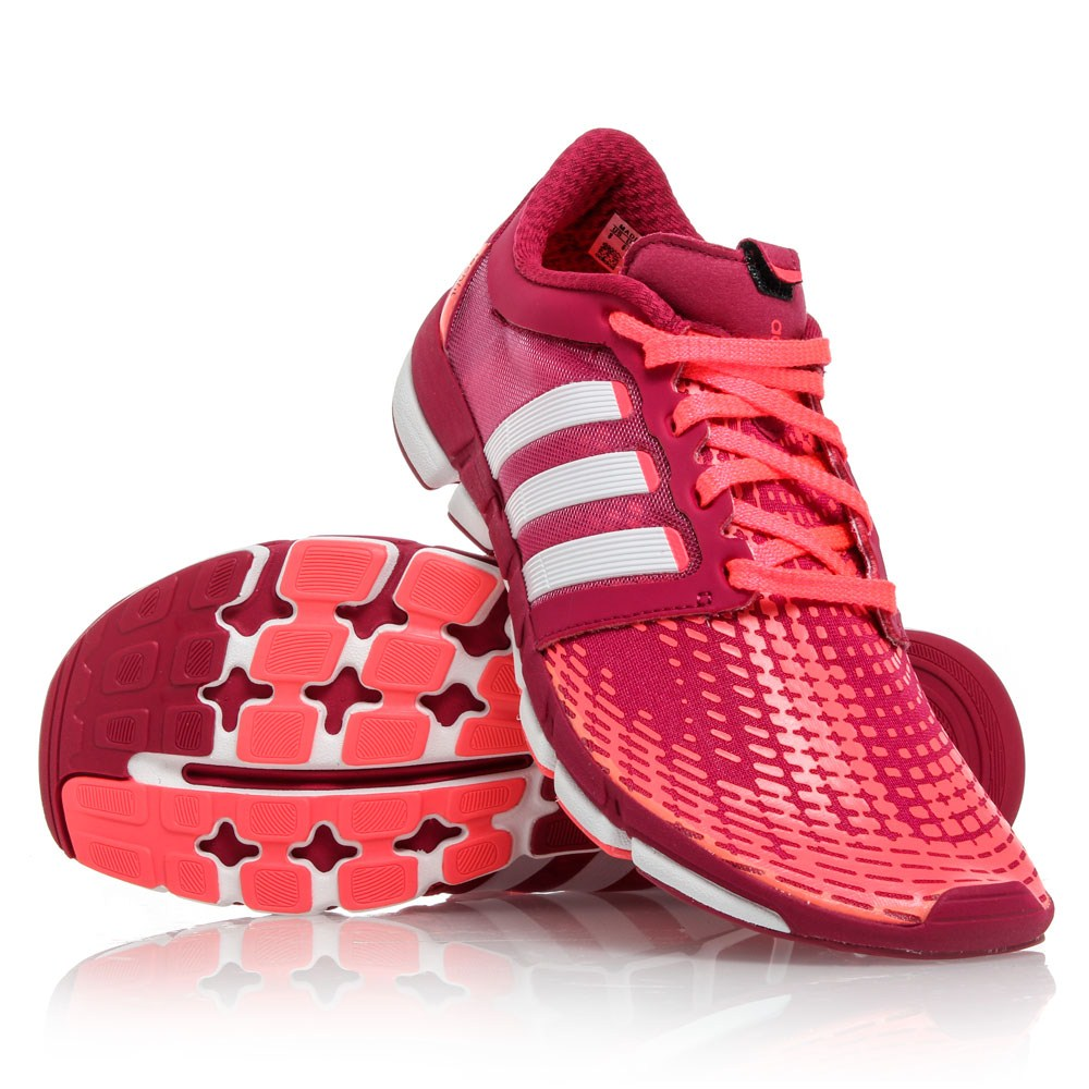 more photos 263c9 649cd Adidas Adipure Motion - Womens Running Shoes - PinkWhiteRed