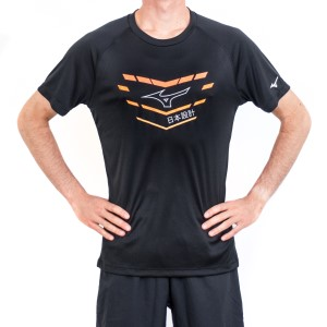 Mizuno Core Graphic Mens Short Sleeve Training T-Shirt