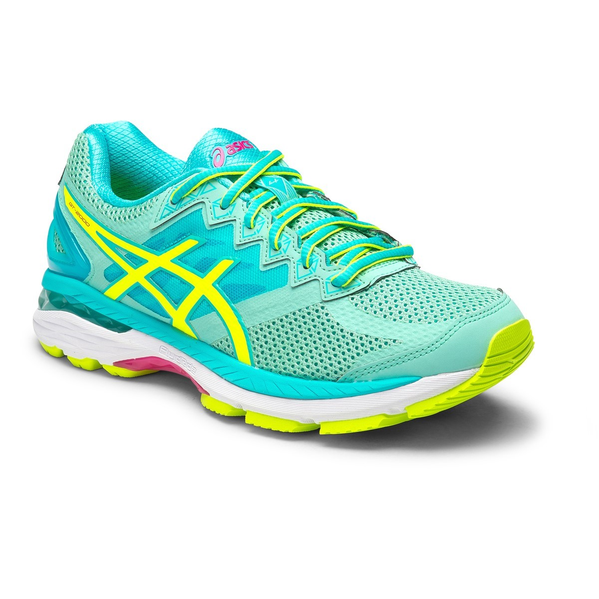 asics gt 2000 4 b womens running shoes aruba blue safety yellow aquarium online sportitude. Black Bedroom Furniture Sets. Home Design Ideas