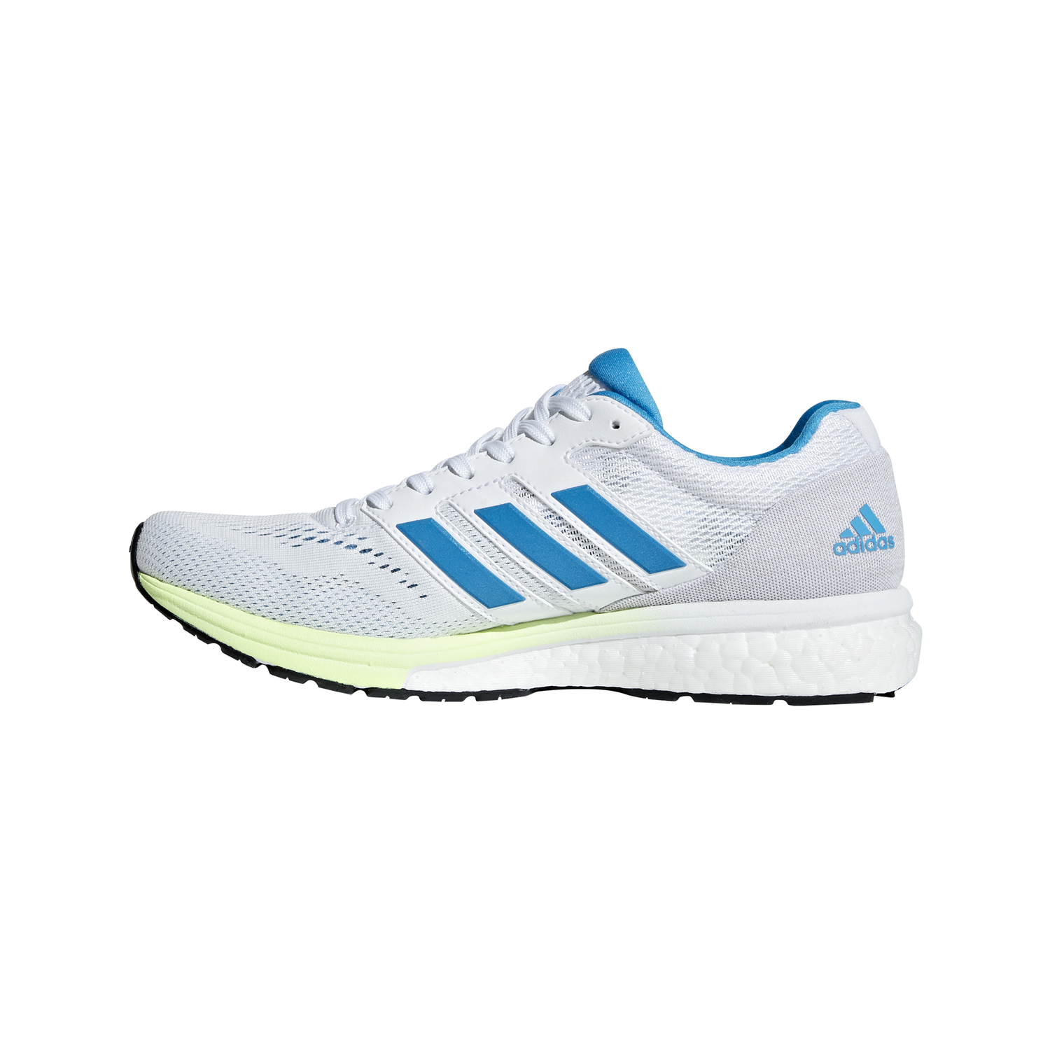 best website 01707 565fb Adidas Adizero Boston 7 - Womens Running Shoes - White