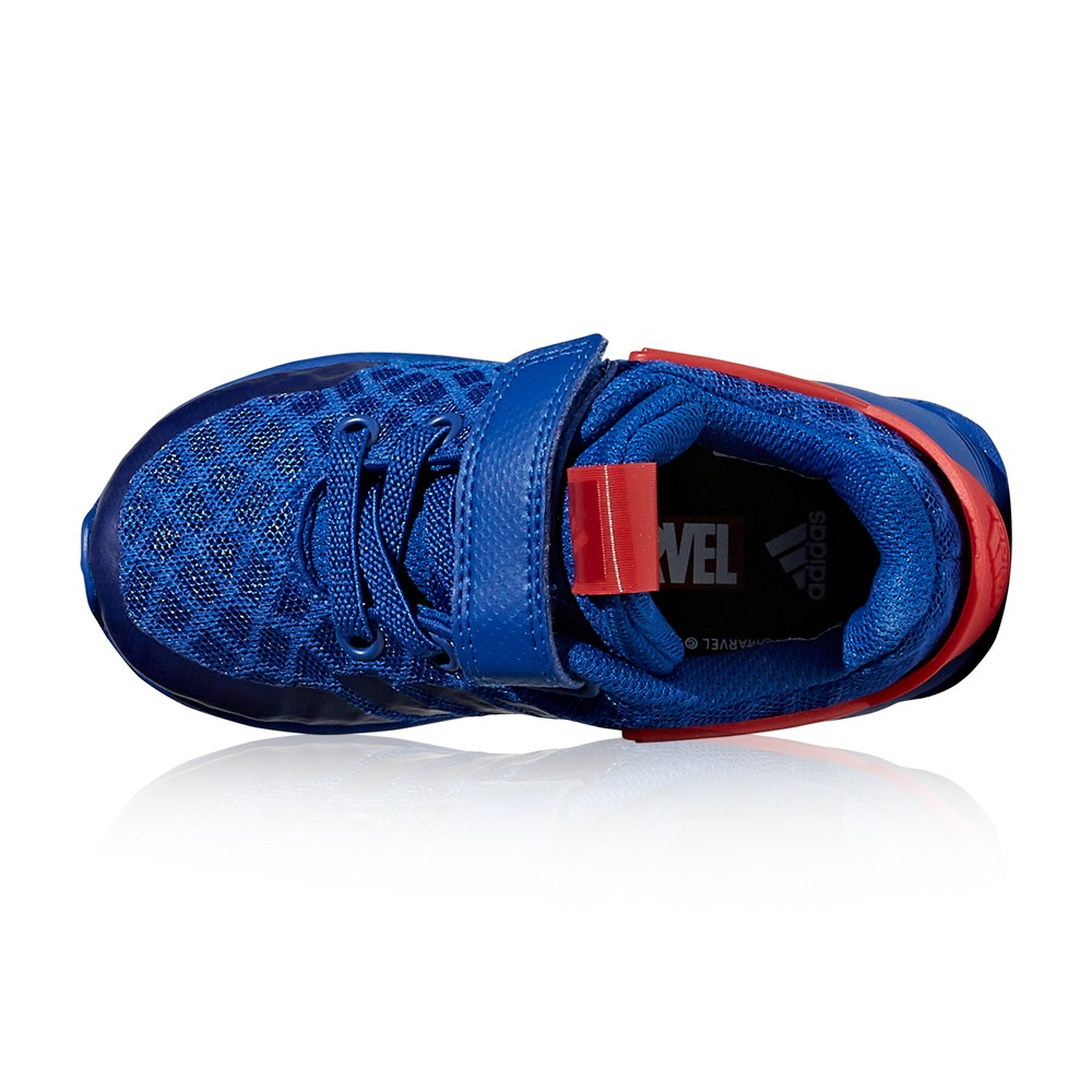 Adidas Spider Man RapidaRun Toddler Boys Running Shoes