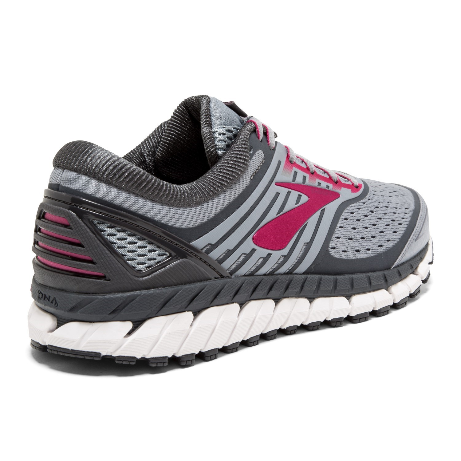 daad1045e0c Brooks Ariel 18 - Womens Running Shoes - Grey Pink