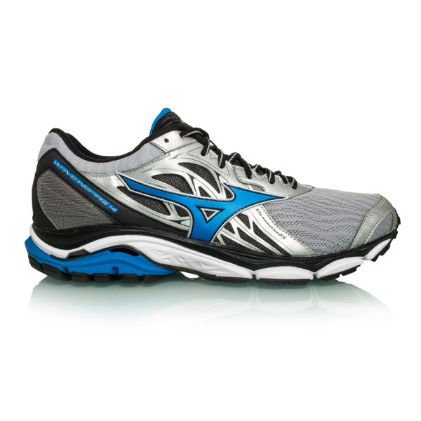 Mizuno Wave Inspire 14 - Mens Running Shoes - Silver/Directoire Blue