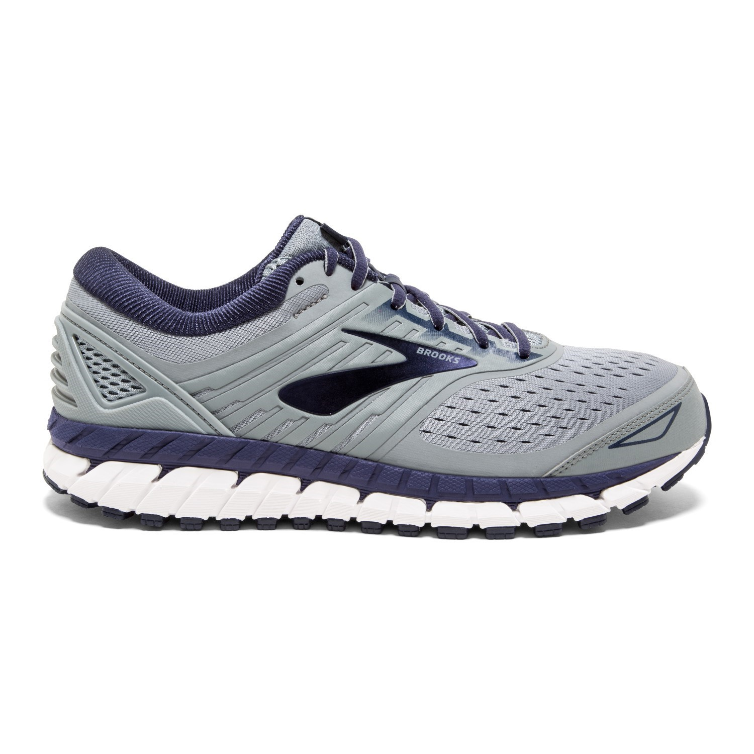 e3d0bd3220f Brooks Beast 18 - Mens Running Shoes - Grey Navy White