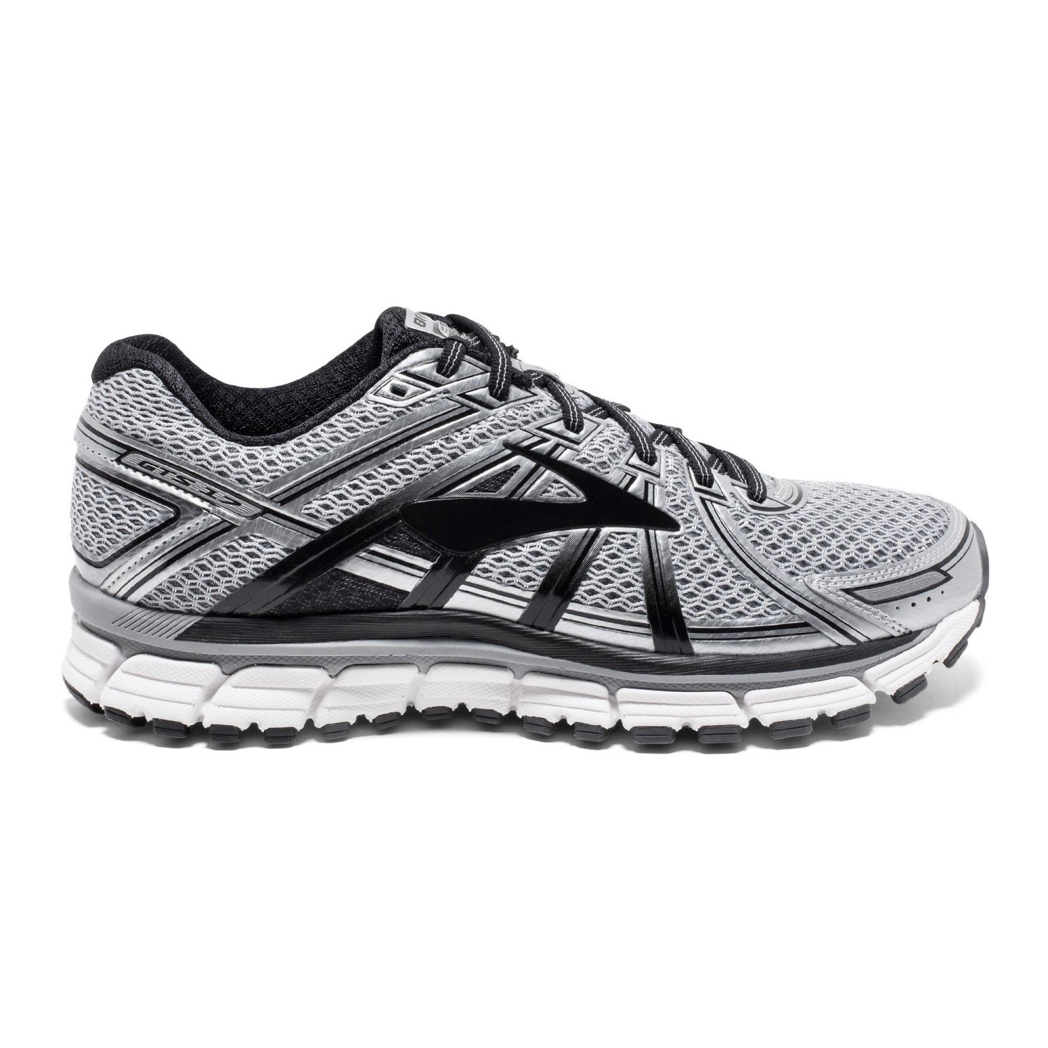 d651b8b548 Brooks Adrenaline GTS 17 - Mens Running Shoes - Silver/Black/Anthracite