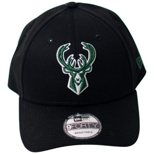 New Era Milwaukee Bucks 9Forty Team Stripes Basketball Cap