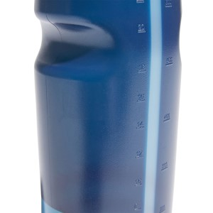 Adidas Perf BPA Free Water Bottle - 750ml - Dark Blue/Cyan
