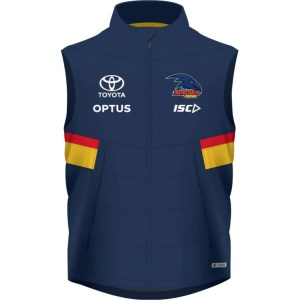 ISC Adelaide Crows Padded Mens Football Vest 2020