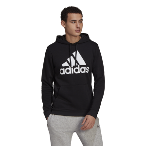 Adidas Essentials Fleece Logo Mens Hoodie