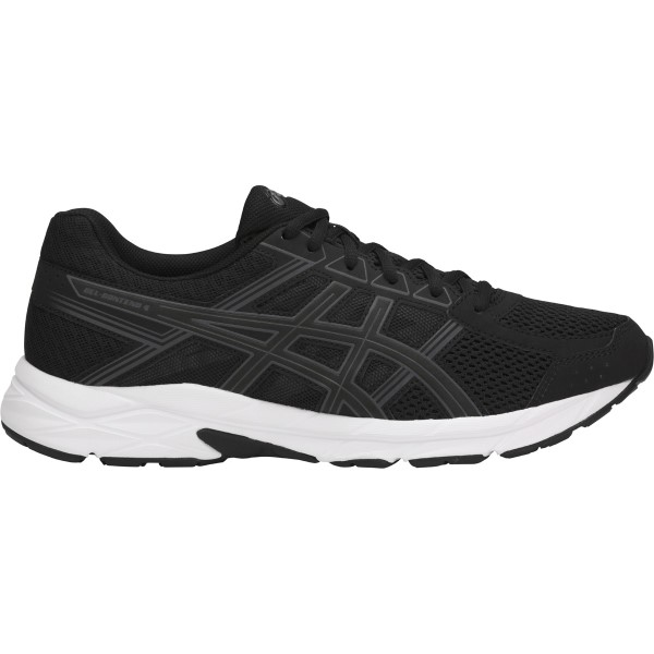 Asics Gel Contend 4 - Mens Running Shoes - Black/Carbon/White 22553