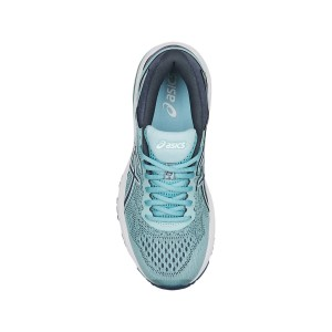 Asics GT-1000 6 - Womens Running Shoes - Porcelain Blue/Smoke Blue/White