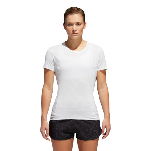 Adidas Supernova Womens Running T-Shirt - Crystal White