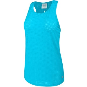 Running Bare Baseline High Neck Womens Workout Tank Top